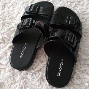 H&M Shoes - NWOT H&M black slides 8